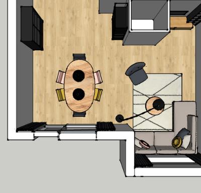 interieurontwerp starterswoning zegveld